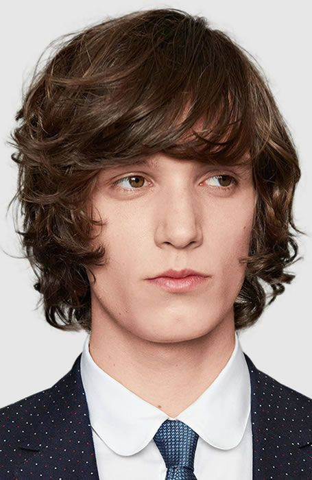 25 Best Men S Fringe Hairstyles Bangs For Men 2020 Guide Curly Hair Men Curly Hair Styles Mens Hairstyles