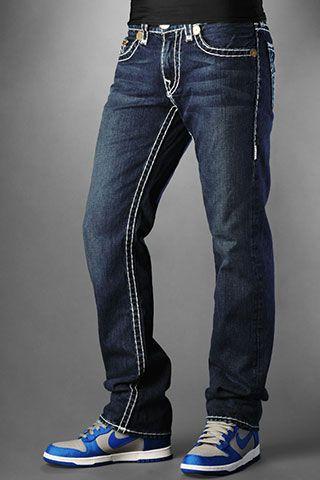 b4c2edaf9 True Religion Jeans Men's Bobby Super T Vigilante Medium No Rips ...