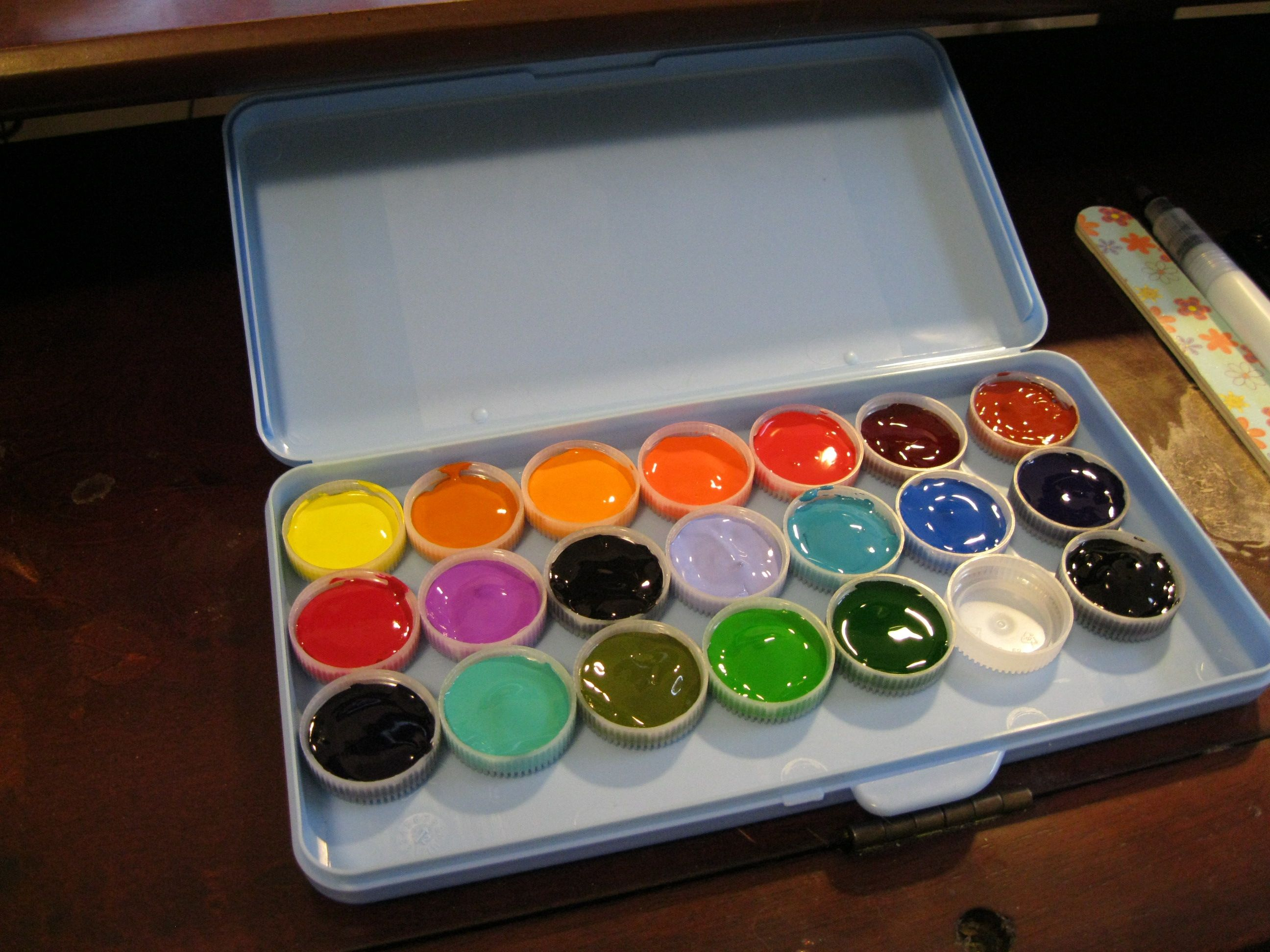 My New Diy Watercolor Set Filled With Winsor Newton And Holbein