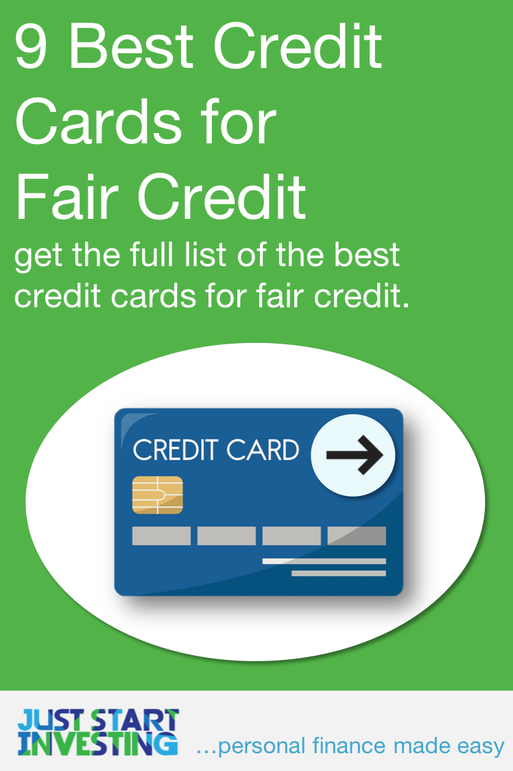 Best Credit Cards For Someone With Fair Credit In 2020 Best Credit Cards Good Credit Fair Credit