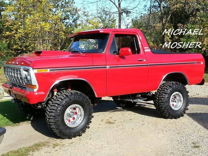 Ford Bronco Bronco Truck Bronco