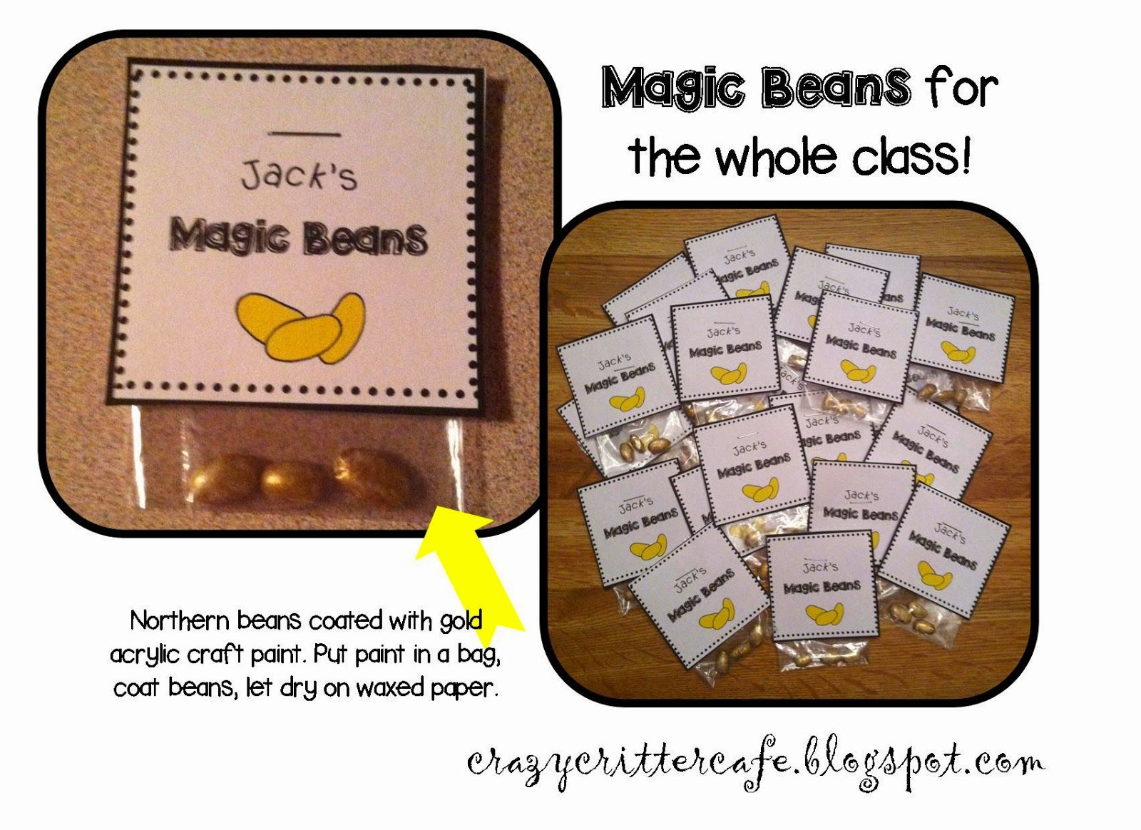 Extend The Story Of Jack And The Beanstalk By Making And Planting Magic Beans Measure Length