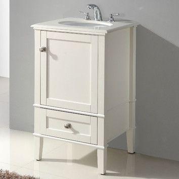 Simpli Home Chelsea 21 Single Bathroom Vanity Set 442