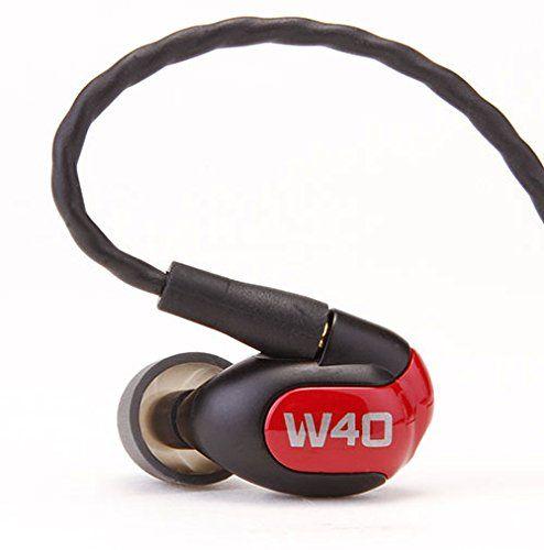 Westone W40 Quad Driver Universal Fit Noise-Isolating Earphones, 78504  http://www.discountbazaaronline.com/2016/02/10/westone-w40-quad-driver-universal-fit-noise-isolating-earphones-78504/