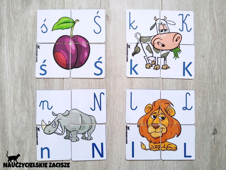 Puzzle Alfabet Dla Dzieci