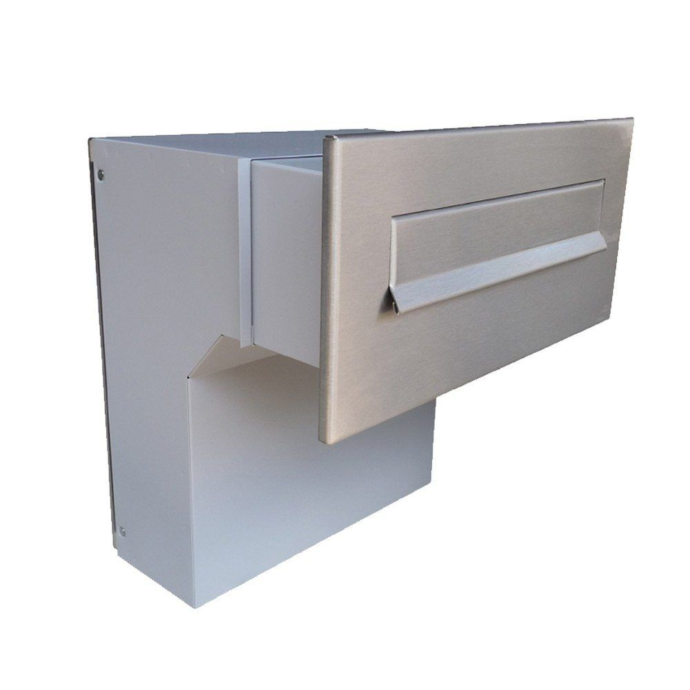 Lfd 04 Large Through The Wall Letterbox Stainless Steel Letter Box Modern Mailbox Boxes For Sale