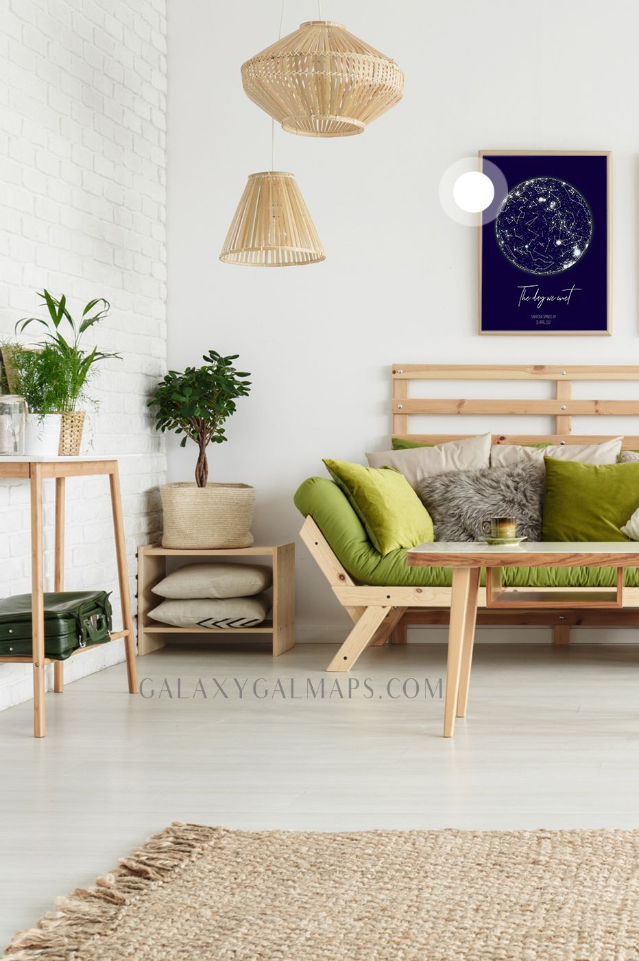 Personal star map by date and location custom map wall art happy