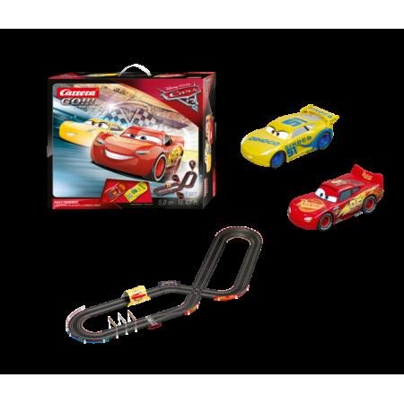 Carrera Go Disney Pixar Cars 3 Fast Friends Slot Car Race Track Set Featuring Lightning Mcqueen Versus Dinoco Cruz Walmart Com Slot Car Race Track Slot Car Racing Pixar Cars