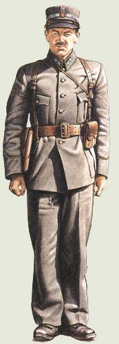 Seconde Guerre mondiale Uniformes uniformes pays membres de la Première Guerre mondiale