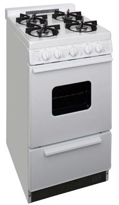 Oven Range BHK5X0OP white on white - battery spark ignition instead of electronic.