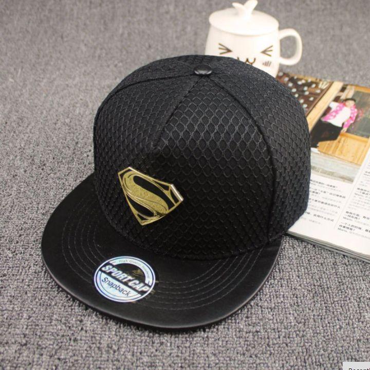 9f58d2e8f61dcf Black Superman Snapback | Superman | Snapback hats, Hats, Baseball cap