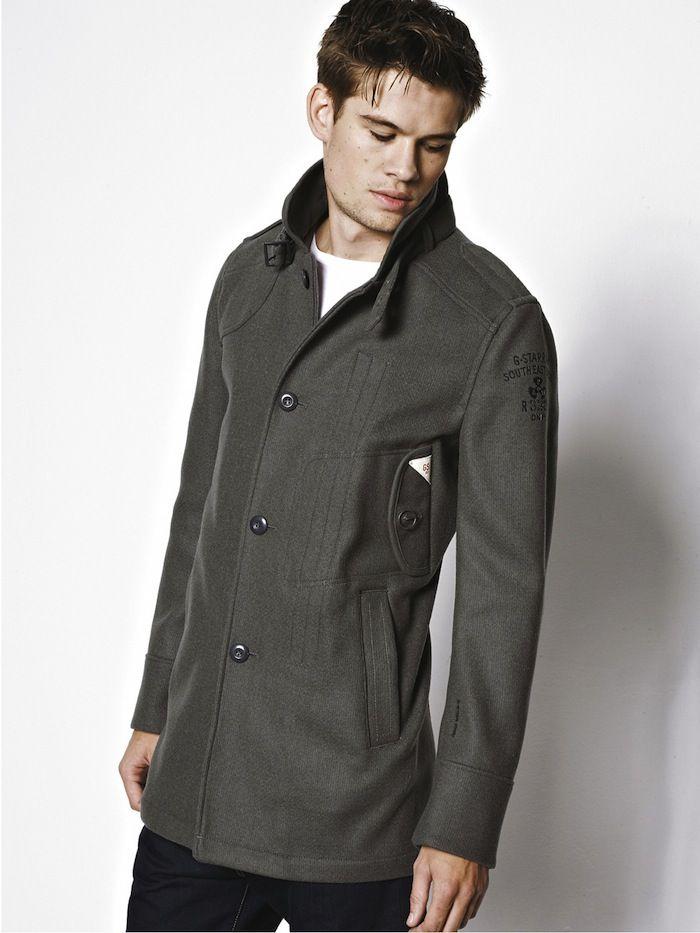 G Star RAW Decoy Wool Garber Mens Trench Coat