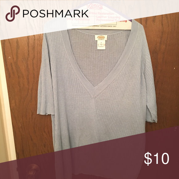 69a3037c744a Silk   linen Light sweater 2x - baby blue