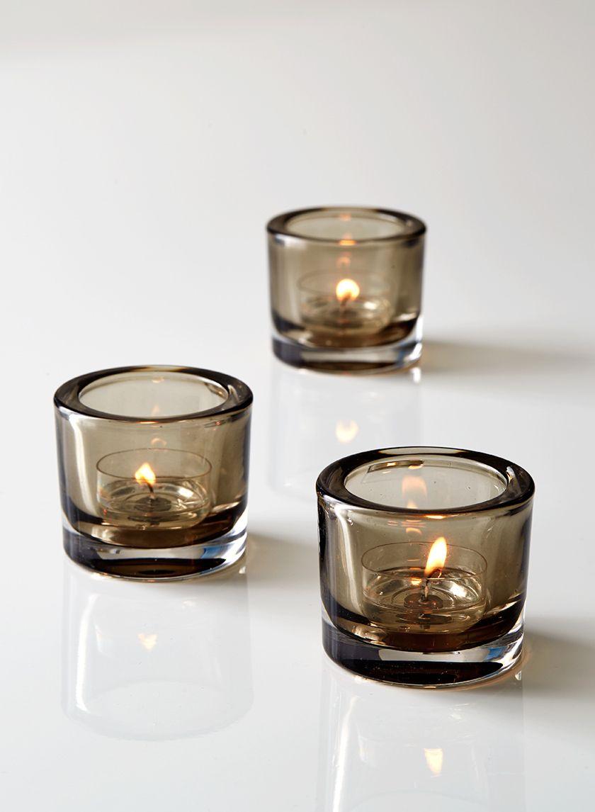 Tea Light Holders Glass