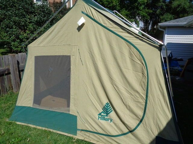 & HILLARY/SEARS CANVAS TENT 8u0027x10u0027