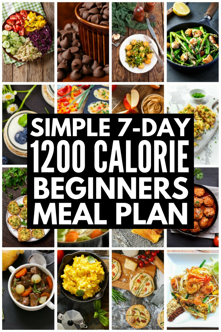 Low Carb 1200 Calorie Diet Plan 7 Day Meal Plan For