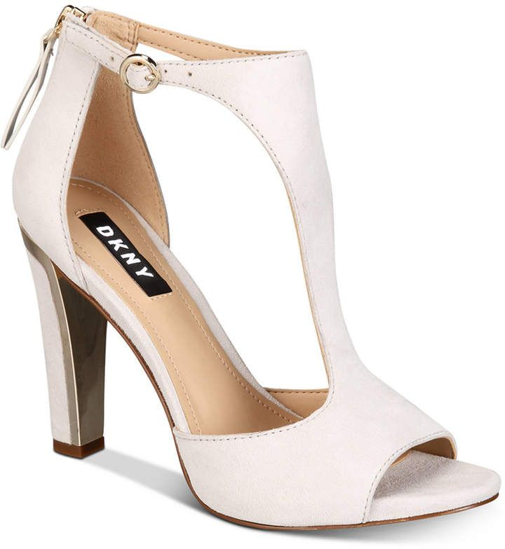 1bd29609eb4 DKNY Colby T-Strap Sandals in 2019 | Products | T strap heels, T ...
