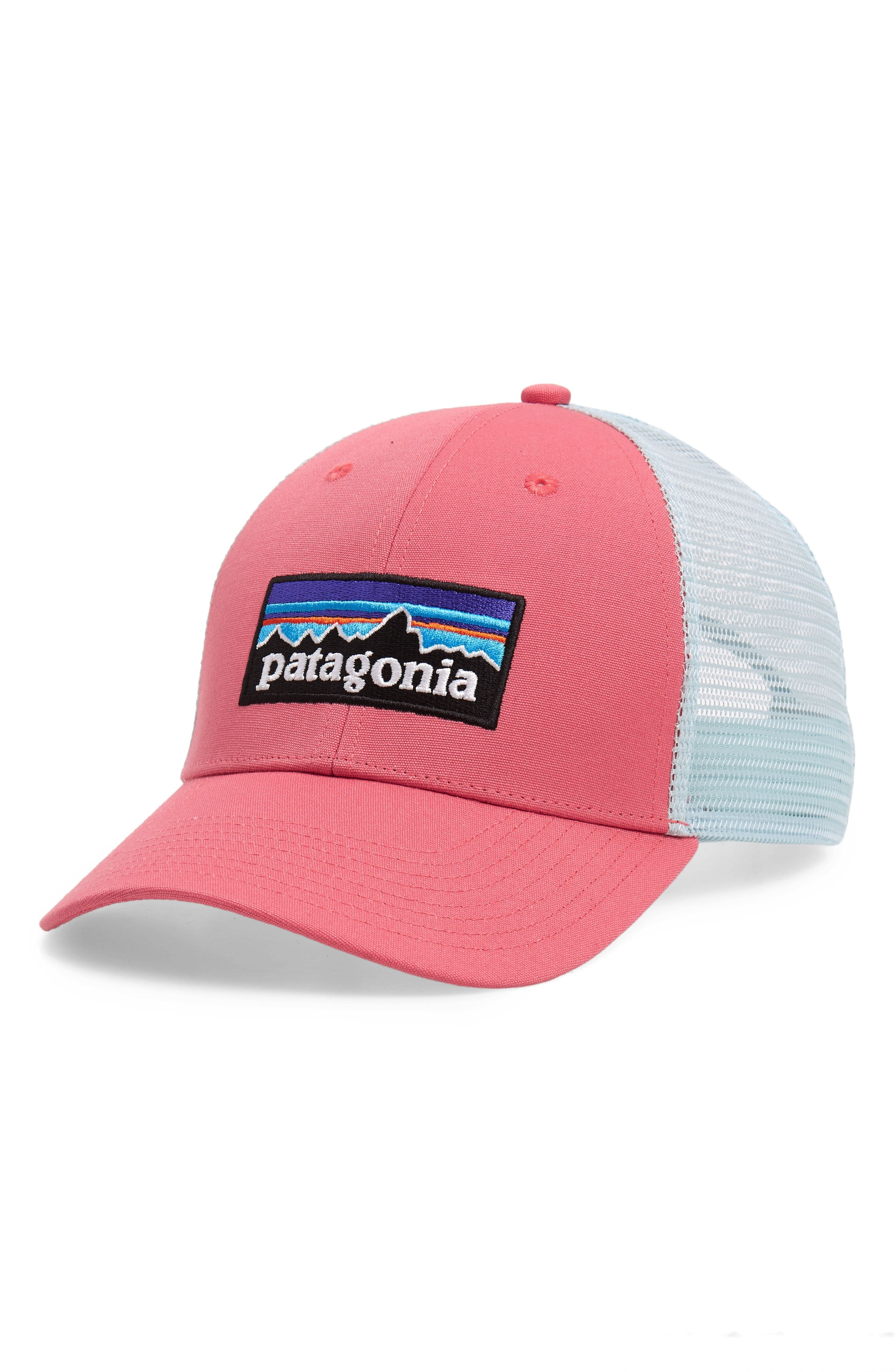 PATAGONIA  PG - LO PRO  TRUCKER HAT - PINK.  patagonia  d5e2e2297b22