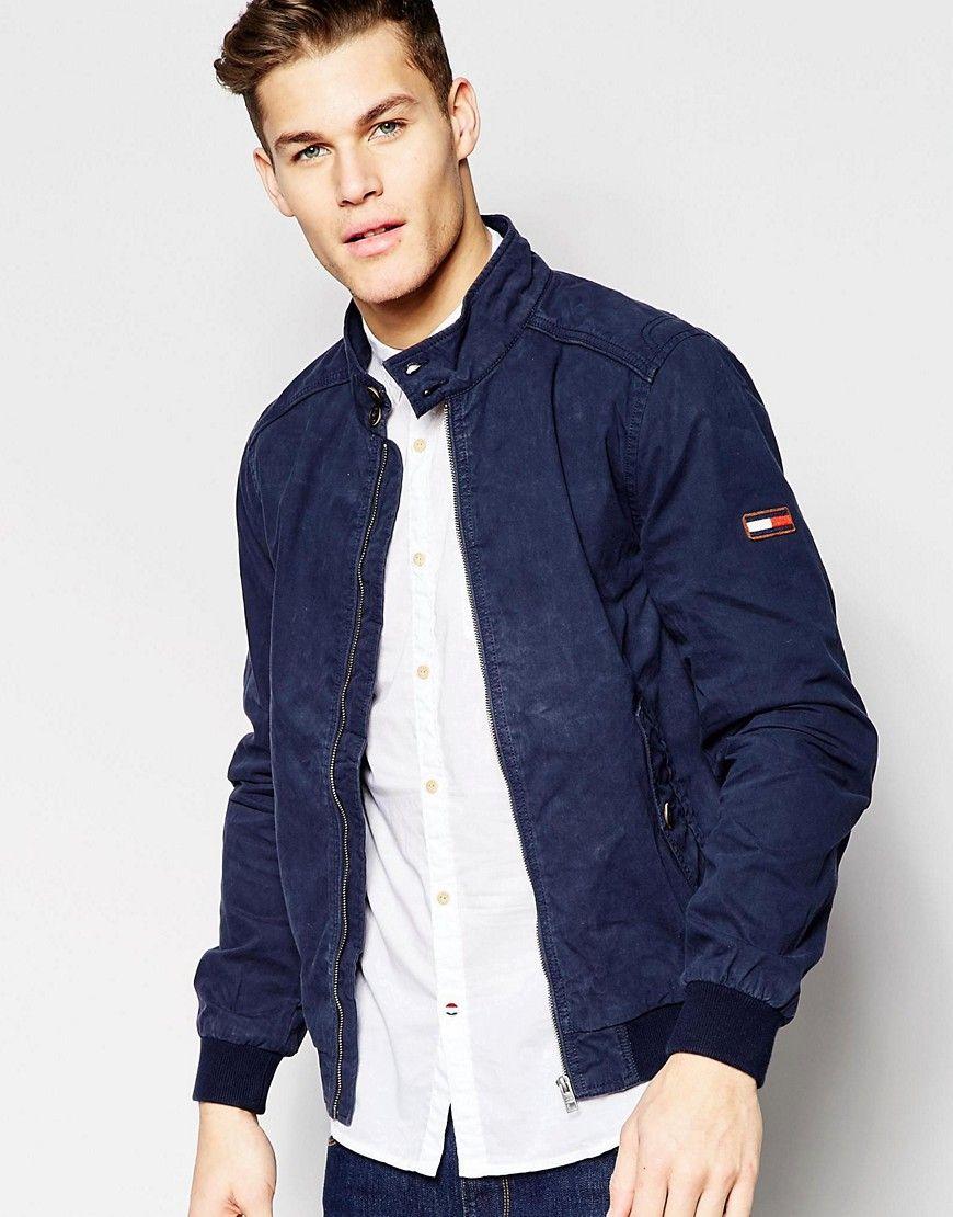 Tommy hilfiger veste homme bleu marine