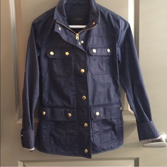 J. Crew Downtown Field Jacket Barely worn! Just don't have many occasions to wear it. J. Crew Jackets & Coats Utility Jackets