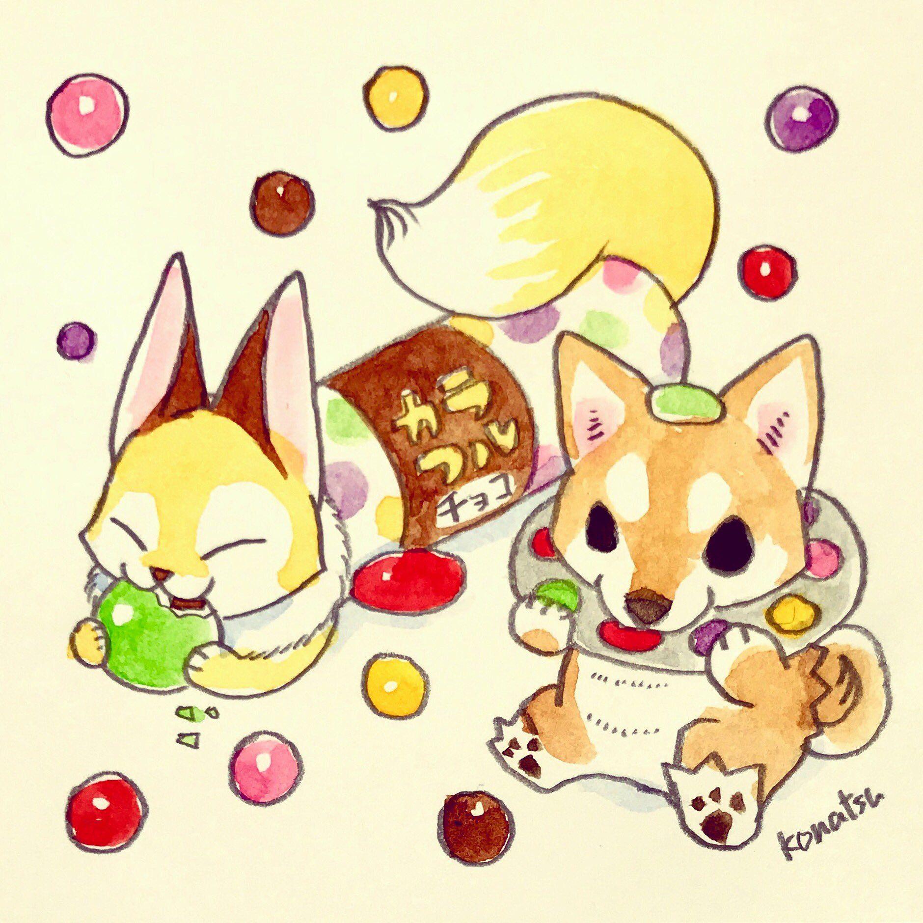小夏屋 At Konatsuya Twitter かわいい怪獣 イラスト