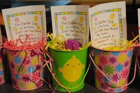 Easter party favor empty egg pails easter easter party and egg easter party favor empty egg pails negle Choice Image