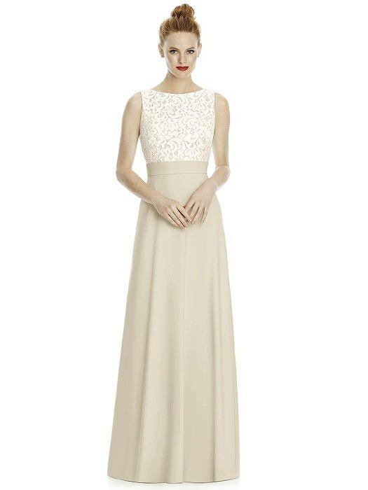 Lela Rose Bridesmaid style LR240 - Palomino | The Dessy Group ...