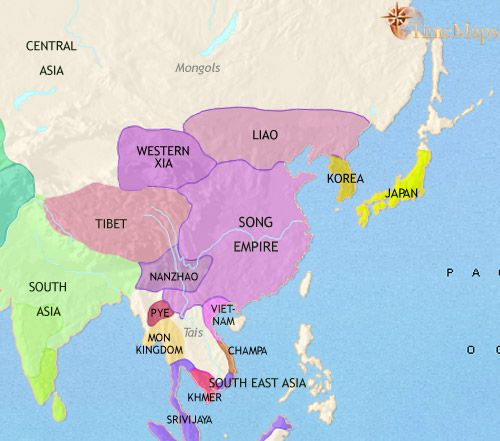 History map of east asia china korea japan 979ad history history map of east asia china korea japan 979ad gumiabroncs Image collections