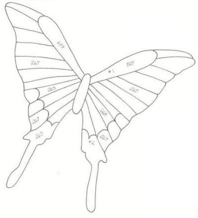 бабочки из пластиковых бутылок шаблоны ПЛАСТИКОВЫЕ БУТЫЛКИ