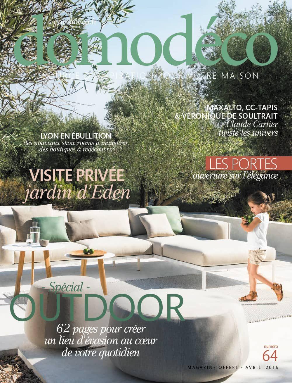 Domodéco, le magazine gratuit déco & habitat de la région lyonnaise avril 2016 est en ligne !