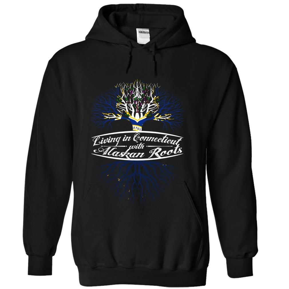Living in Connecticut with Alaskan root T Shirts, Hoodies. Check price ==► https://www.sunfrog.com/States/Living-in-Connecticut-with-Alaskan-root-dmrkkxdkcb-Black-Hoodie.html?41382 $39.99