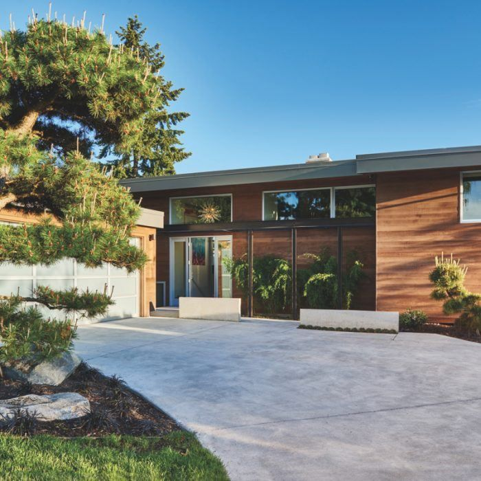 Modern Country Homes Design: Midcentury Modern Clyde Hill Home Gets A Reboot