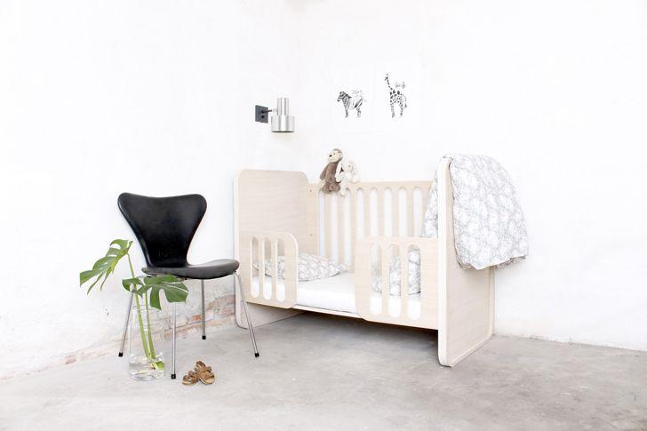 Muebles para bebé de inspiración nórdica