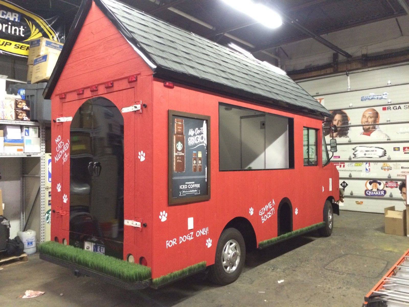 One of a kind dog house food truck ebay