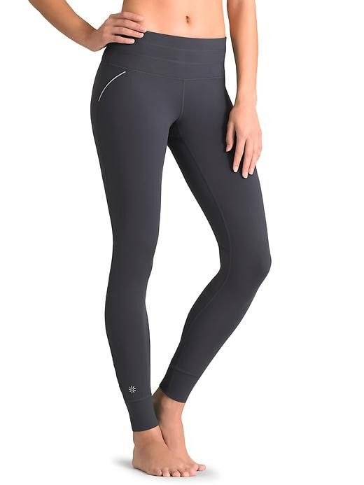 7e0e0e309c0aa Athleta Womens Relay Tight Size XL Tall - Flint grey
