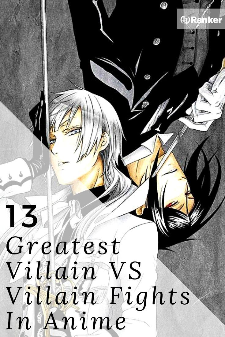 The 13 Greatest Villain Vs. Villain Fights In Anime