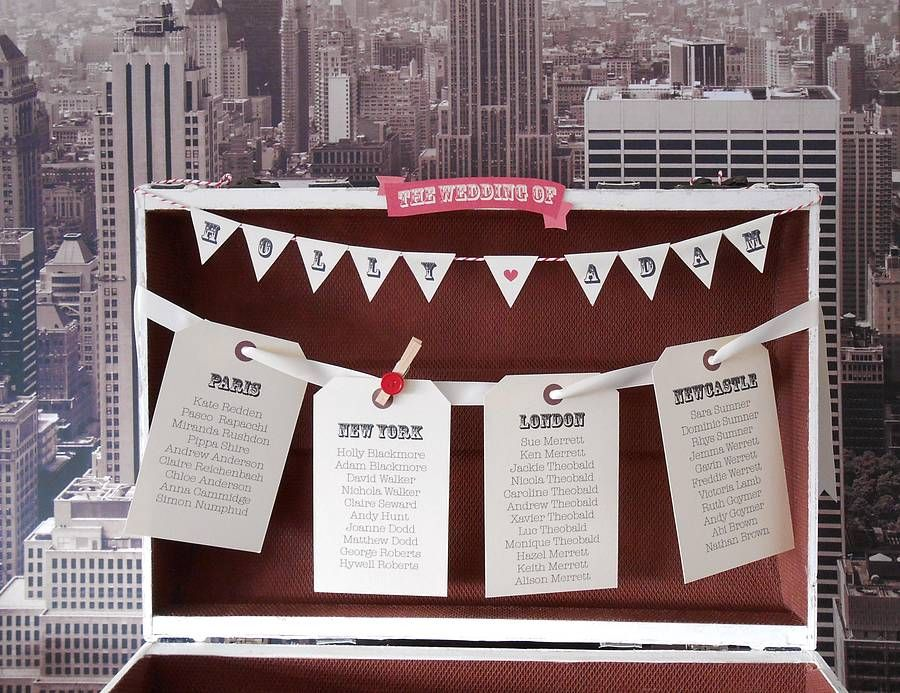 Create Your Own Table Plan By Katie Sue Design Co Notonthehighstreet