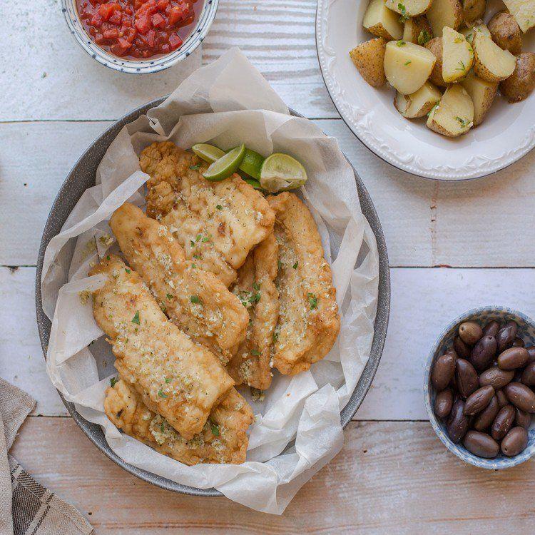 فيليه السمك المقلي مع الثوم والأعشاب مطبخ سيدتي Recipe Food Chicken Wings Seafood