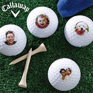 nice Callaway Photo Personalized Golf Balls - Add Your Own Picture