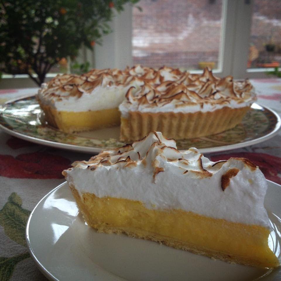 Jules Cooking, Citroen meringue taart
