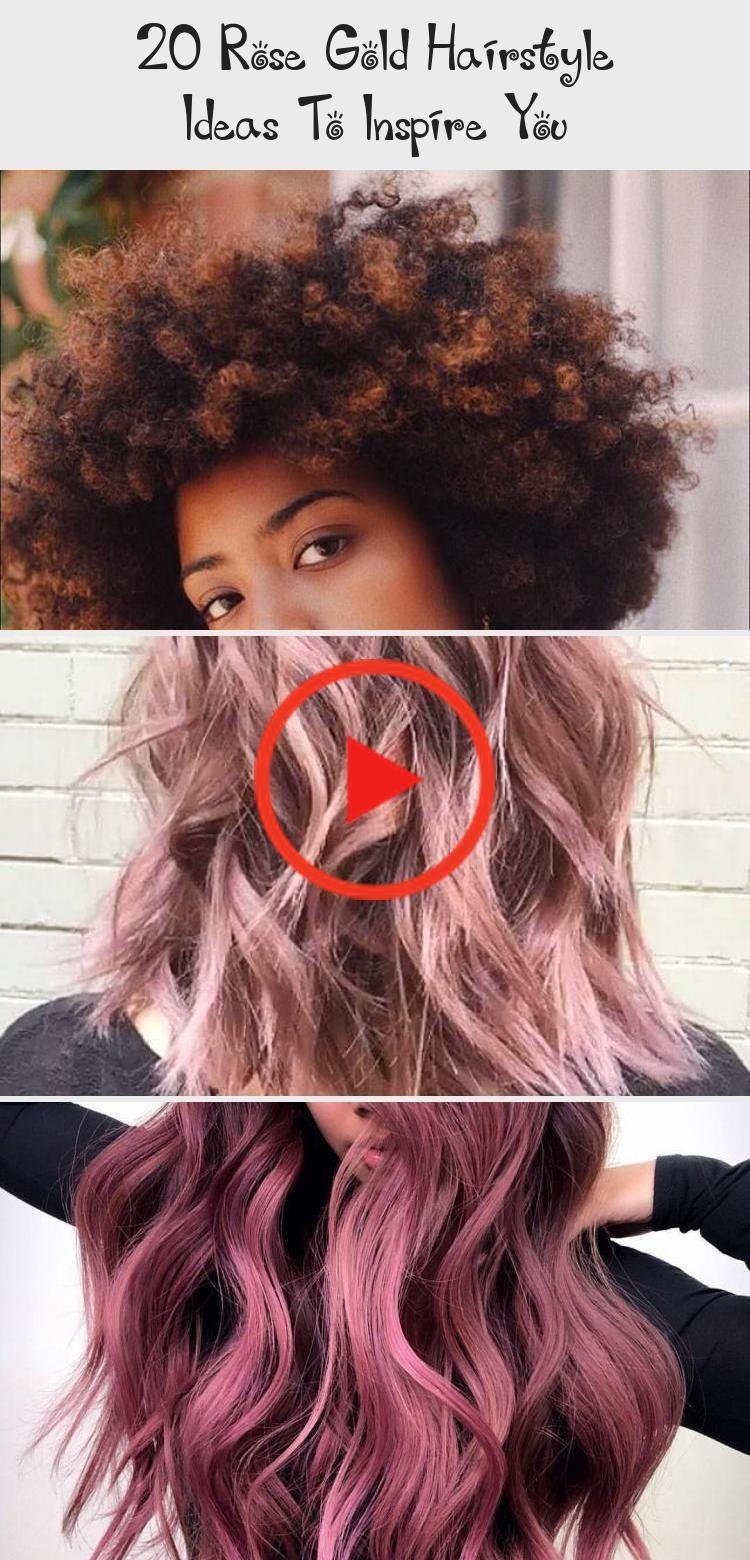 Photo of Die unten stehende Idee für eine Frisur aus 20 Roségold umfasst sowohl kurzes als auch langes Haar. #LongHa … – Die 20 stiegen