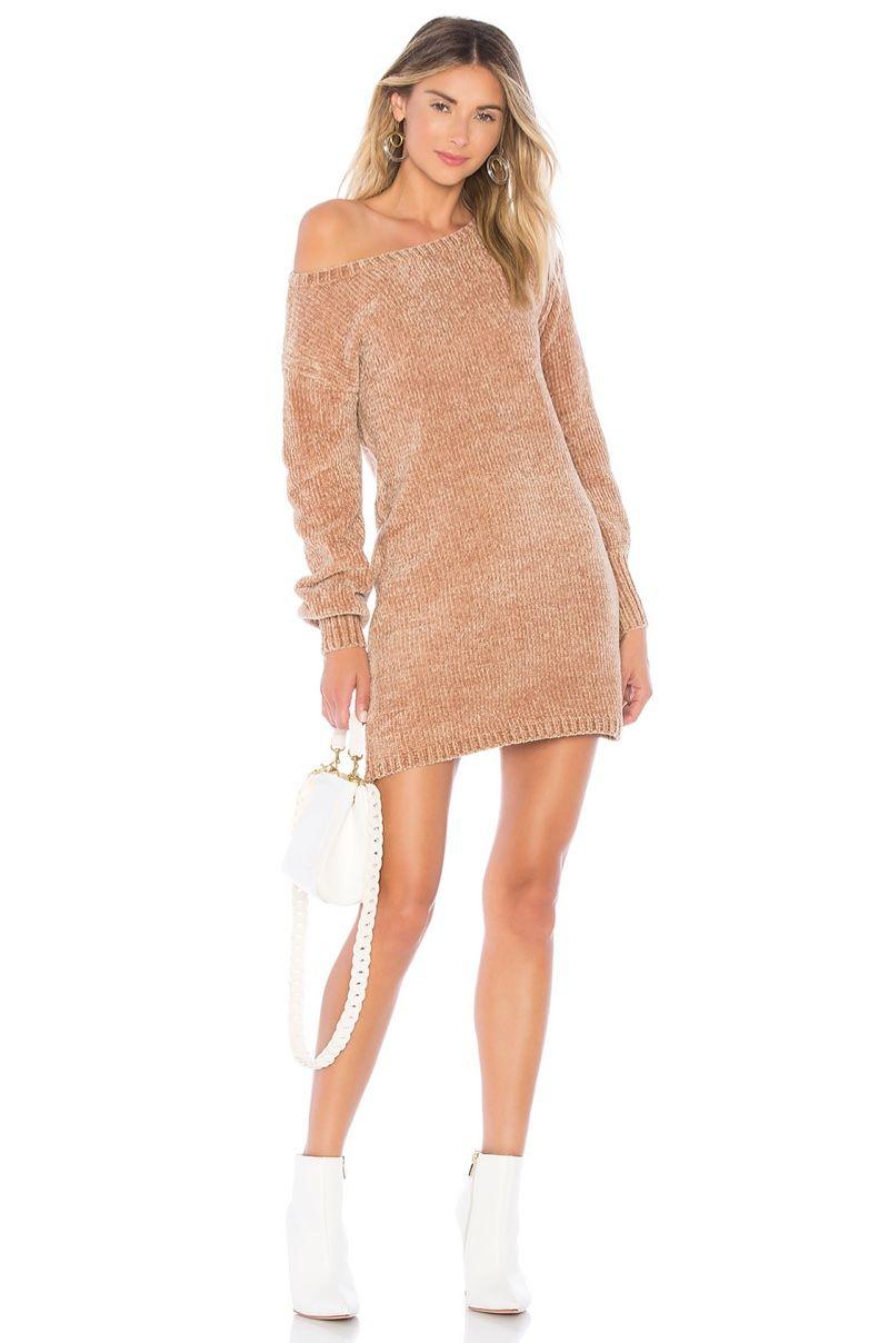 6cb2b5399aa0a Keeping It Cozy: Stay Warm In a Chic Sweater Dress | Dresses | Cute ...