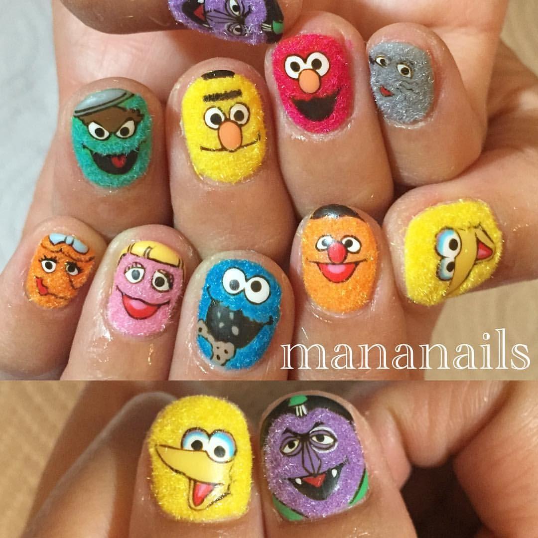 Sesame Street Acegel Nailpartner Nail