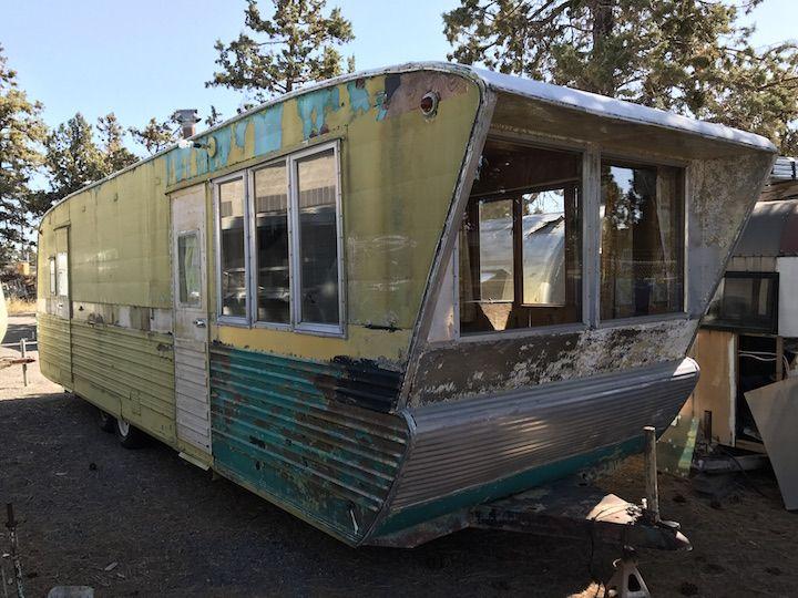 1955 pan american pan american vintage travel trailers