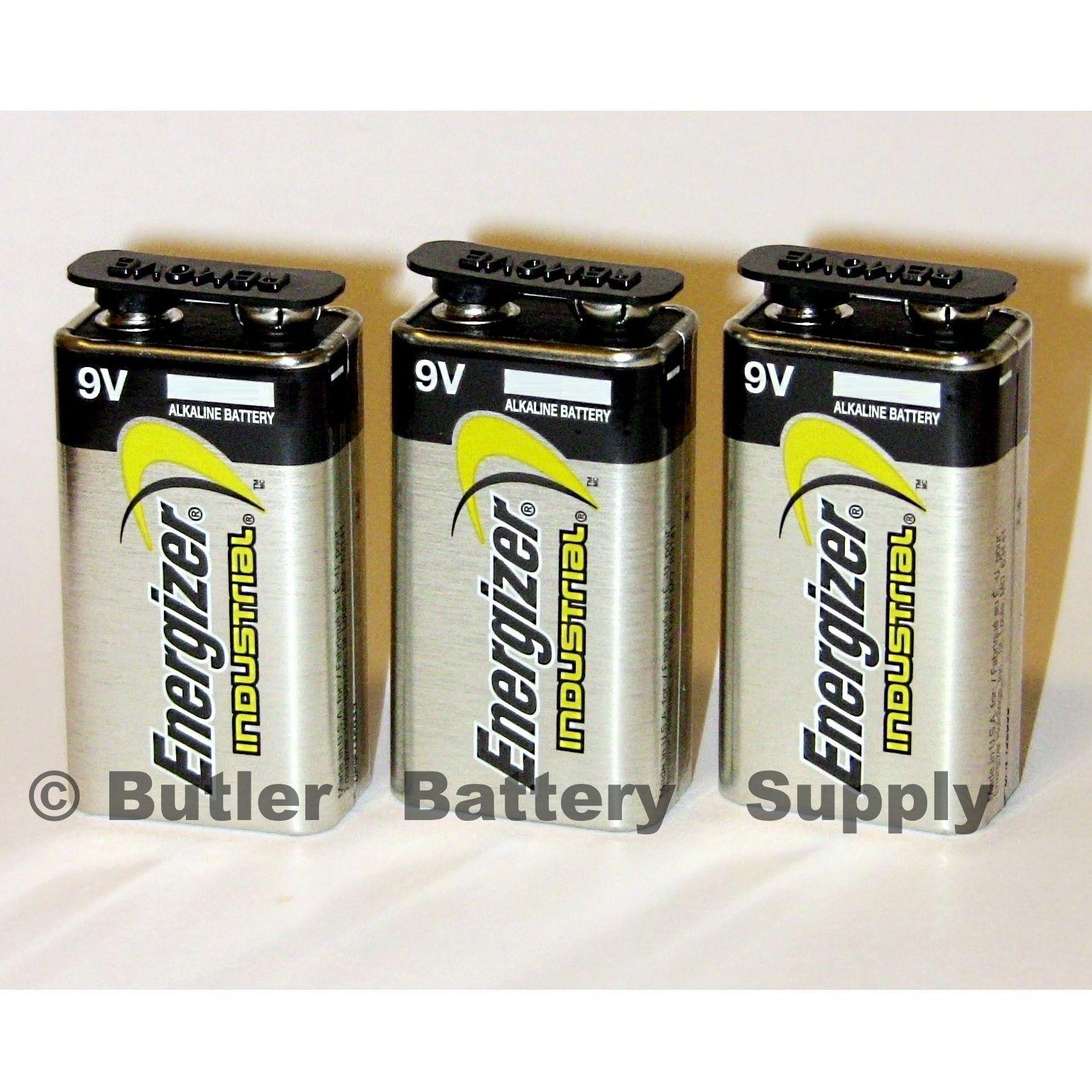Click Now 3 Energizer Industrial 9 Volt 9v Alkaline Batteries En22 6lr61 1604 Hurry Alkaline Battery Alkaline Energizer