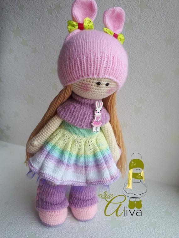 handmade toys crochet doll handmade doll Doll to order #handmadetoys