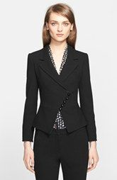 Armani Collezioni Textured Suiting Jacket (Nordstrom Exclusive)
