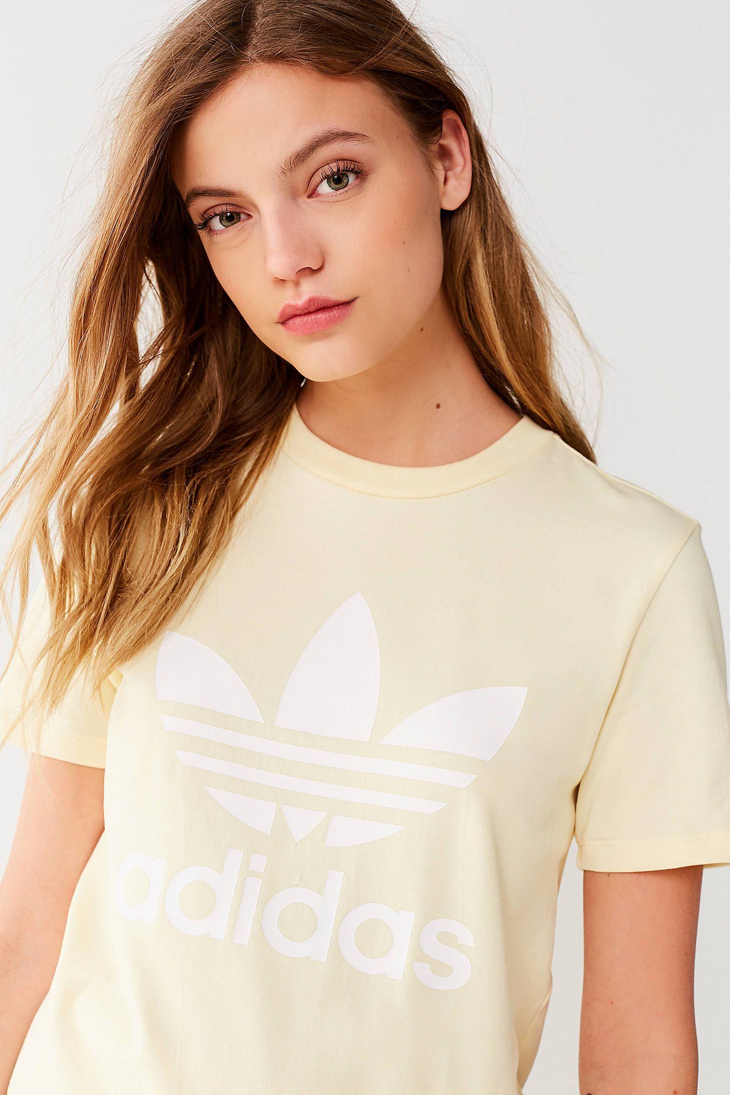 adidas Originals Adicolor Trefoil Crew Neck Tee | shirts