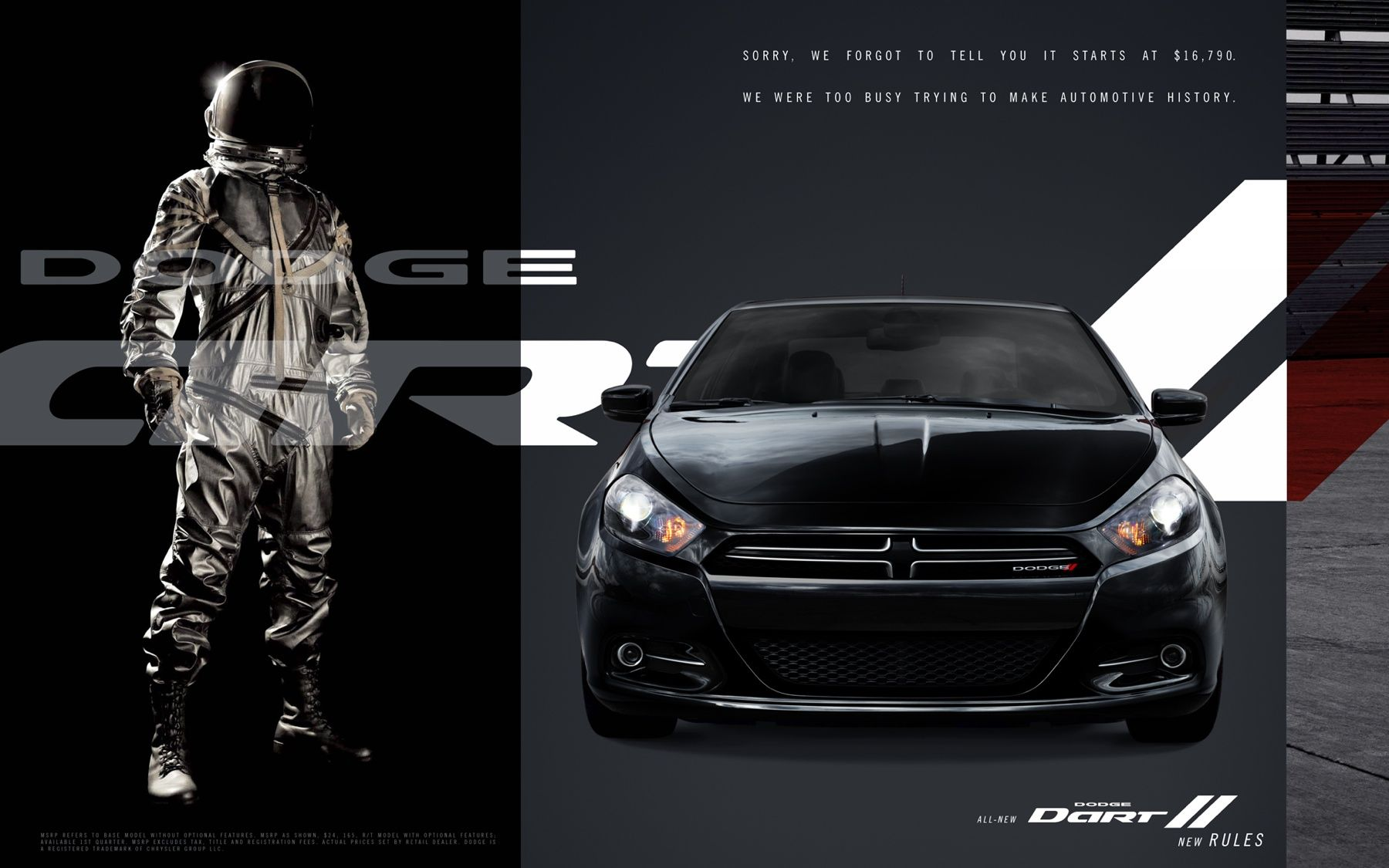 Dodge Dart Black design graphic Pinterest