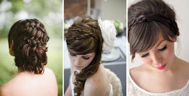 Der Zopf Ist Beliebt Unter Den Hochzeit Frisuren Wedding